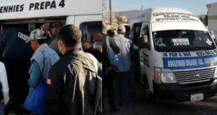 Castigan a tres unidades de transporte en Pachuca por no cumplir medidas ante Covid-19