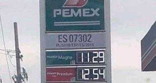 Este lunes, gasolina Magna se vende en Pachuca hasta en $12.79 por litro