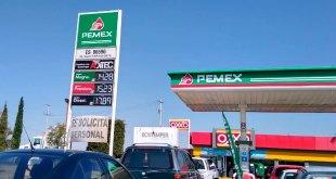 Gasolina Magna continúa en $12.89 el litro este jueves en Pachuca
