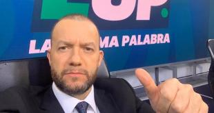 Comentarista Alejandro Blanco tiene coronavirus Covid-19
