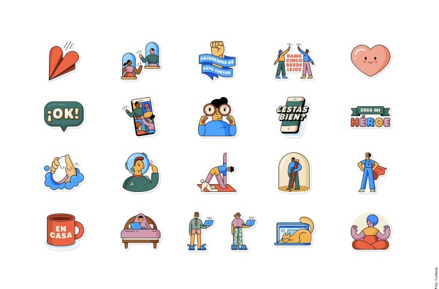 Libera WhatsApp stickers por coronavirus Covid-19