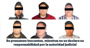 Vinculan a proceso a cinco presuntos asaltantes de autobús en Tula