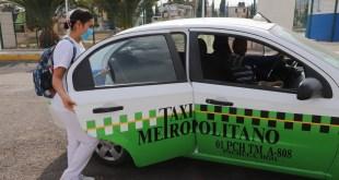 Garantizan transporte público para Sector Salud en Hidalgo