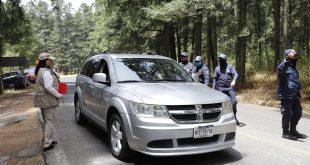 Sin entrada a Mineral del Monte por contingencia, mil 770 visitantes