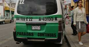 Desacatan medidas preventivas ante coronavirus operadores de transporte