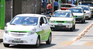 En operación, únicamente 50% de taxis en Pachuca