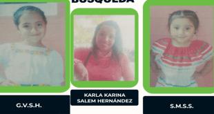 Se busca una mujer y dos niñas, extraviadas en Tizayuca