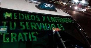 Don Ramón, taxista pachuqueño que ofrece viajes gratis a médicos y enfermeras