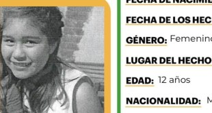 Activan Alerta Amber por Nathaly Saldaña Cruz, extraviada en Tecozautla