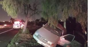 Deja choque 2 lesionados en la México-Pachuca
