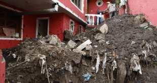 Apoyan a familias tras afectaciones por lluvia en zona de Pachuca