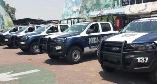 Reciben nuevas patrullas en Tizayuca, con inversión de 2.7 millones