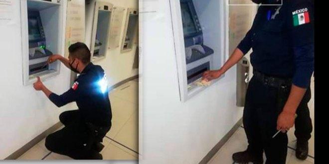 Alerta policía de Pachuca por artefactos en cajeros automáticos