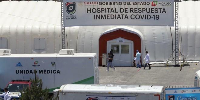 Mueren 6 más por Covid-19 en Hidalgo; suman 48
