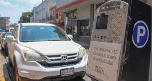 Parquímetros en Pachuca seguirán sin operar ante semáforo naranja