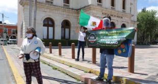Frena organiza segunda protesta contra AMLO en Pachuca