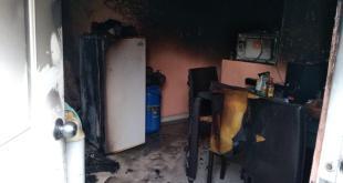 Se registra incendio en una casa de El Saucillo, en Mineral de la Reforma
