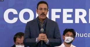 Las medidas en Hidalgo no se levantarán antes del 30 de junio: Fayad