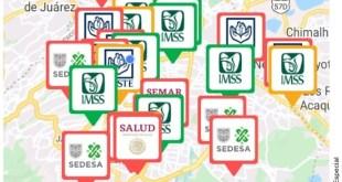 Saturan 30% de hospitales Covid en el Valle de México
