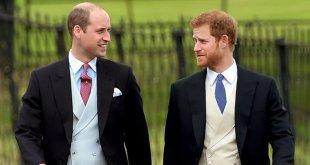 Liman asperezas príncipes Enrique y Guillermo, de Inglaterra
