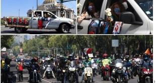 caravana contra AMLO Ciudad de México