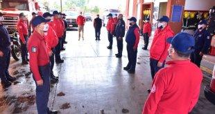 Bomberos de Pachuca vuelven tras cuarentena por casos de Covid
