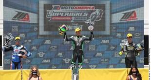 Richie Escalante, en la cima del MotoAmerica