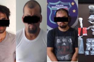 Detienen a cuatro personas con droga en Ixmiquilpan