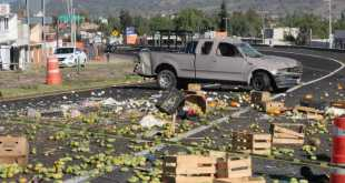 Deja accidente en la Pachuca-Actopan un muerto y una herida