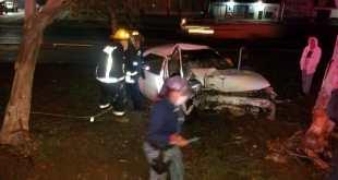 Se registra accidente en Matilde, en la México-Pachuca; un muerto y un herido