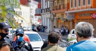 En pleno pico de contagios, pachuqueños salen al centro de la ciudad