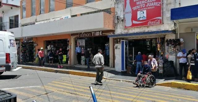 Abrieron negociosen la zona centro de Tulancingo