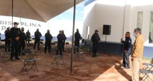 Destinaronen Tizayuca 2.7 mdp delFortaseg en5 patrullas