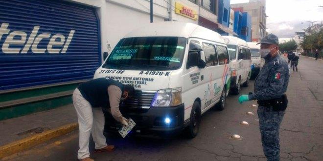 Sancionan unidades Huasteca medidas salubres