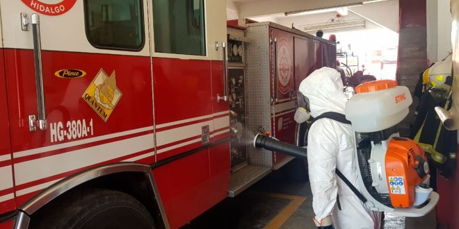 bomberos pachuca covid