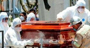 Superan muertes Covid-19 homicidios CDMX