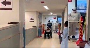Pacientes vencen al Covid-19 y salen de hospitales del Issste en Pachuca
