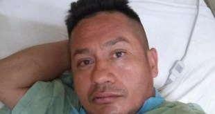 Buscan a familiares de David González, internado en Pachuca