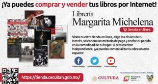 Abren Librería Margarita Michelena