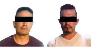 Recuperan auto robado Atotonilco de Tula detenidos