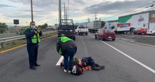 Hombre es atropellado en la Pachuca-Ciudad Sahagún