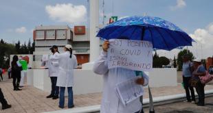 Pandemia bajos sueldos médicos Colegio Médico Hidalguense