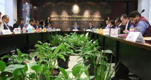 Vence propuesta de INE para los comicios locales en Hidalgo y Coahuila