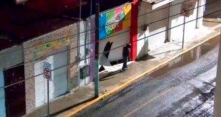 Detienen ladrón robo comercio centro Pachuca