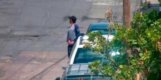 detuvieron ladrón autopartes Pachuca