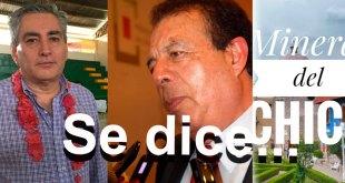Se dice... que Raúl Badillo, Joel Guerrero y Mineral del Chico