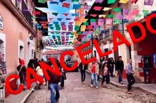 suspenden festival plata Mineral del Monte