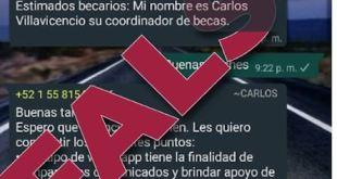 Advierte Bienestar fraude becarios Benito Juárez