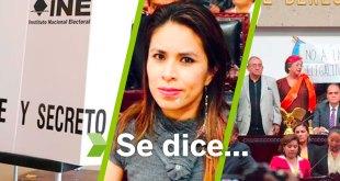 Se dice... que las elecciones, Simey Olvera y los diputados de Morena