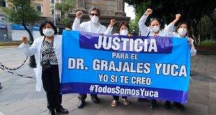 """""""Soy inocente"""", asegura Grajales Yuca, médico de Chiapas"""